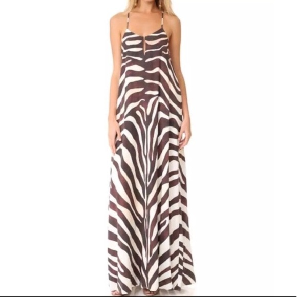 06c20ae1d6 Mara Hoffman Zebra Maxi Dress size XS NWT